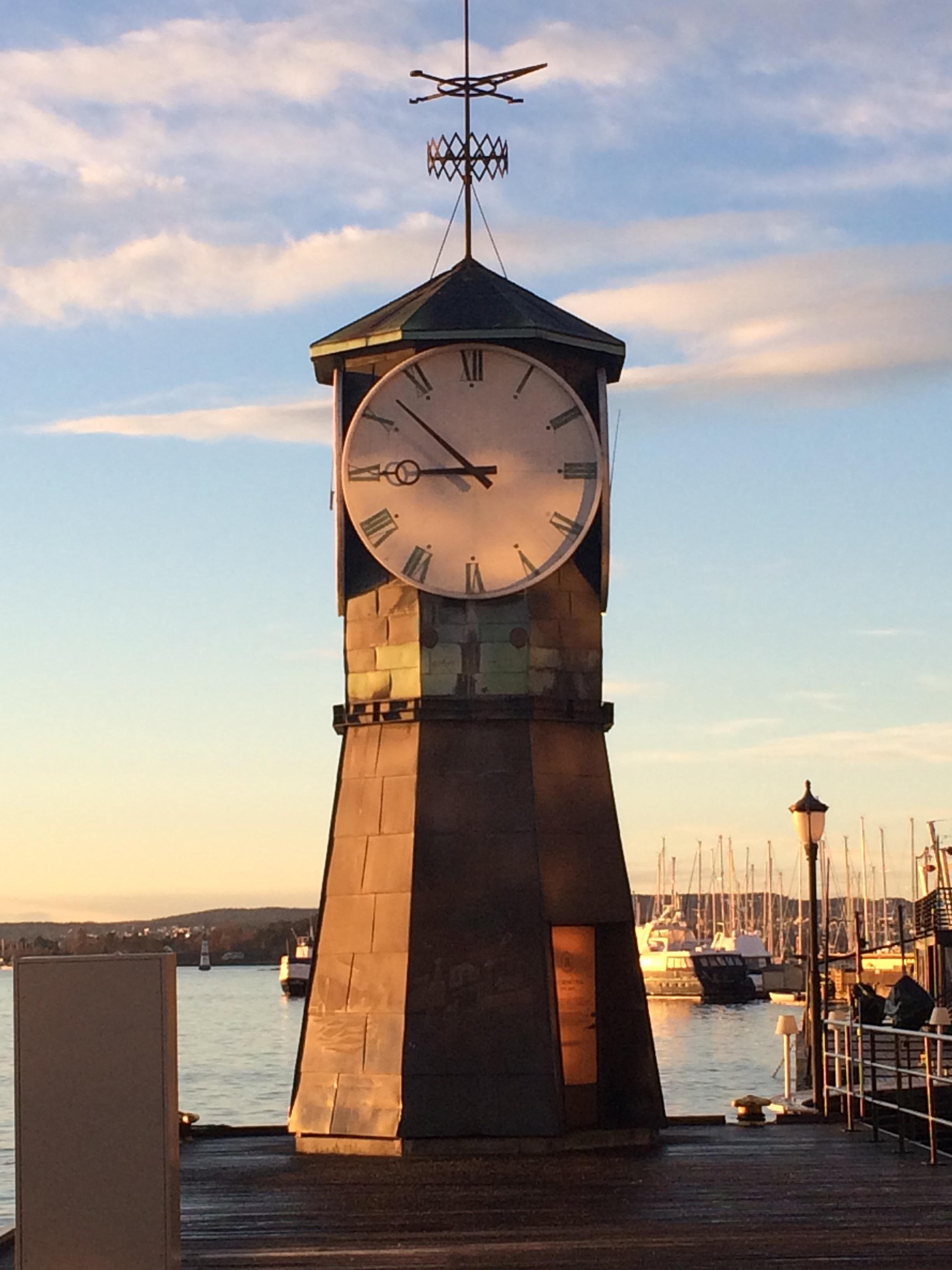Tid på havnen, Oslo